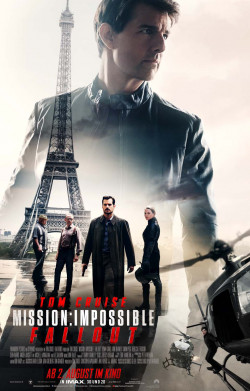 Plakat Mission: Impossible - Fallout