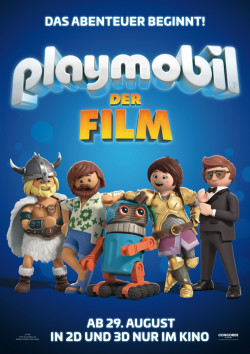 Plakat Playmobil - Der Film