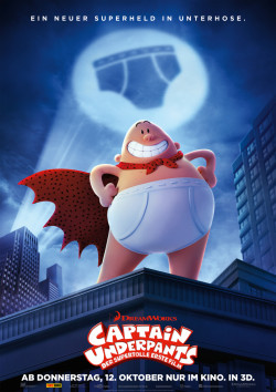 Plakat Captain Underpants - Der supertolle erste Film
