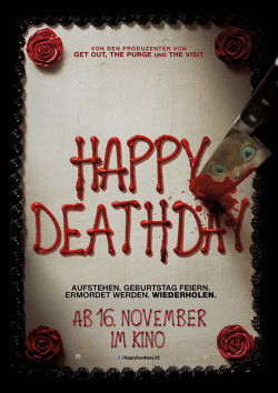 Plakat Happy Deathday