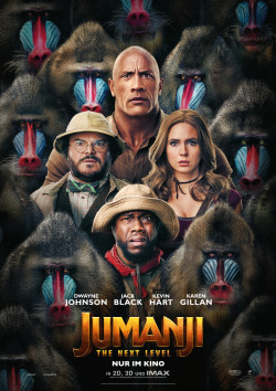 Plakat Jumanji 2: The Next Level