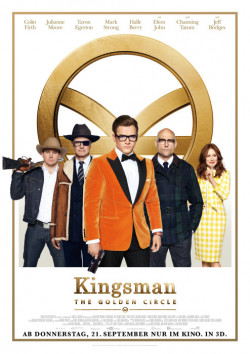 Plakat Kingsman 2 - The Golden Circle