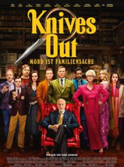 Plakat Knives Out - Mord ist Familiensache