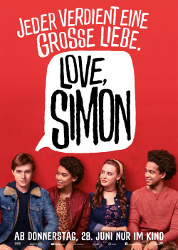 Plakat Love, Simon