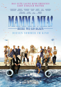 Plakat Mamma Mia 2: Here We Go Again!