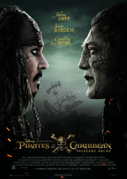 Plakat Pirates Of The Caribbean 5: Salazars Rache