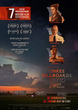 Plakat Three Billboards Outside Ebbing, Missouri